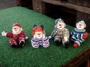 @ Clown Harlequin @ Great Figurine Different Variants New Height 7 CM