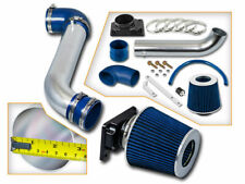 BCP BLUE 00-05 Eclipse 2.4 L4 3.0 V6 Ram Air Intake Racing System + Filter