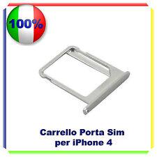 SLOT PORTA SIM TRAY PORTA SCHEDA VASSOIO PER  IPHONE 4 4G 4S Cassettino