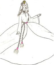 "Scarlet O'Hara  Victorian Dress PATTERN fits 11.5"" BARBIE doll Fashion B12"