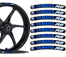 8 Yamaha r6 Wheel Rim Stickers Decals Car Moto GP Motorcycle Rim Stickers r15