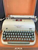 Vintage Remington Quiet-Riter Miracle Tab Typewriter Manual w/ Case Working Mint