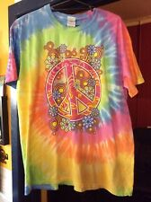 Peace Sign T Shirt Extra Large
