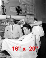 "Elvis Presley~Hair Salon~#4~Barber~Photo~Rockabilly~Stylist~16"" x 20"""