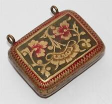 alter Miniatur Taschenascher ca. 1900/1910, Jugendstil  #C876