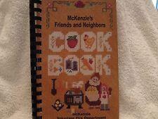 McKenzie Alabama Friends & Neighbors Cookbook Volunteer Fire Deptartment 1996