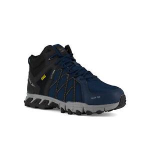 Reebok Men's Trailgrip Internal Met Guard Navy Hiker Shoes RB3400