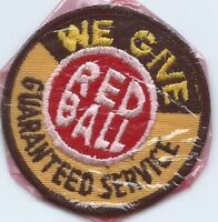 Red Ball we give guaranteed service driver/employee gasoline patch 3 in dia