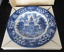 Avon Independence Hall Bicentennial Plate In Box Representative Exclusive Award