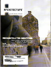 Architecture Magazine February 2005 MOMA Scottish Parliament Clinton Museum