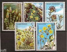 Spain Edifil # 2220/2224 ** MNH set. Flora / Flowers / arboles / trees