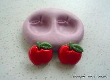 Apples Fruit Silicone Mould, Sugarcraft, Cake Decorating, Fimo, Craft