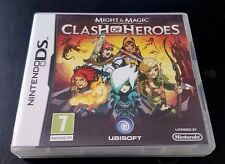 MIGHT AND MAGIC CLASH OF HEROES - Nintendo DS - PAL / EUROPE - COMPLETE!