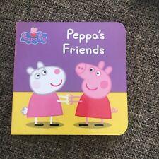 NEW. PEPPA PIG. 9 BY 9 CM. PEPPA'S FRIEND. MINI BOARDED. LADYBIRD