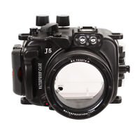40m 130ft Waterproof Case Housing Case Cover For Nikon J5 Camera 10-30mm Lens