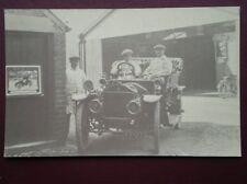POSTCARD 1909 SIDDLEY CAR