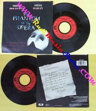 LP 45 7'' SARAH BRIGHTMAN STEVE HARLEY The phantom of the opera no cd mc dvd