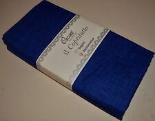 TELOARREDO COPRILETTO COPRIDIVANO GRANDFOULARD MATRIMONIALE OROSEI BLUE