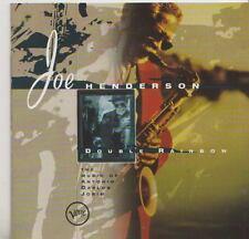 JOE HENDERSON   CD  DOUBLE RAINBOW  THE MUSIC OF JOBIM