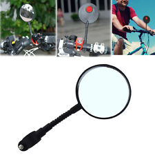 Bike Bicycle Cycling Safety Rear View Mirror Handlebar Glass Durable Super Light