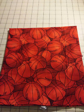 40x22 Toddler daycare cot sheet 1 Basket ball print