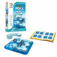 SmartGames Penguins Pool Party 3D Logic Educational Travel Game Toy Kids Adults