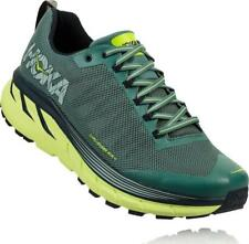 Mens New Hoka Challenger ATR 4 Trail Running Shoes Size 9.5 Color Green