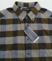 Roundtree & Yorke Flannel Plaid Shirt 2XT Soft Portuguese NWT