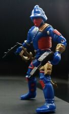 GI Joe Iron Grenadier Letal Custom Blue Red & Gold
