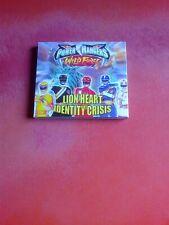 POWER RANGERS Lion Heart Identity Crisis Video CD!