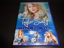 TAYLOR SWIFT Just for You (DVD, 2011) BRAND NEW SEALED Unauthorized Biography