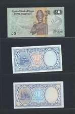 Egypte Lot de 3 billets différents  en état NEUF   Lot N° 2