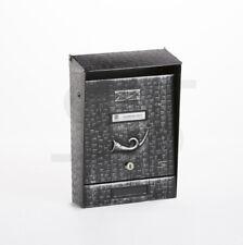 Boîte aux lettres de courrier noirs