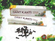 5 x Divya DANT Kanti Dentifricio Swami ramdevs prodotto 100gm (ciascuno) la spedizione gratuita
