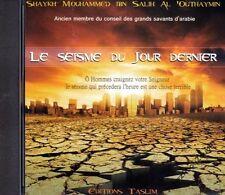 CD Le Séisme Du Jour Dernier Audio Islam - NEUF