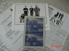 """Kyuss  """"...And The Circus Leaves Town""""  Official Elektra Press KIT w/ Photo"""