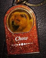 Chow Chow Dog Key Chain Fob
