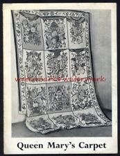 QUEEN MARY'S CARPET ~ Leaflet and Postcard, 1950. Free UK Postage