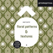Floral Patterns and Textures : Pops à Porter (2017, Paperback)