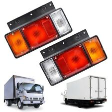 For Isuzu NPR ELF NPR NKR NHR NLR Truck Universal Pair Rear Tail Light Lamp
