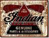 * Motorrad Indian Motorcycle Bike Nostalgie Vintage Werbung Schild Poster *911