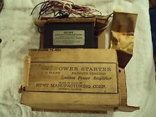 New Never used Gasser,Hunt Ignition Power Amplifier Model C-404 w/wiring & inst.