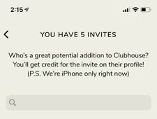 Clubhouse App Invite - Instant Delivery (iOS Only)