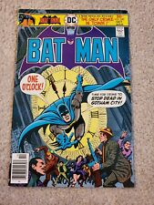 "BATMAN #280 (DC Comics 1976) Detective Robin Newsstand ""Only Crime in Town"""