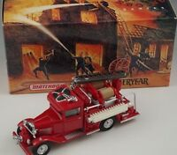 MATCHBOX MODELS OF YESTERYEAR 1932 FORD AA FIRE ENGINE TRUCK 1:43 MIB