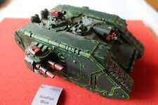Games Workshop Warhammer 40K Dark Angels Land Raider Tank Nicely Painted WH40K