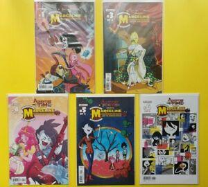 Adventure Time Marcline, Scream Queens #1-6 Kaboom Comics Variants