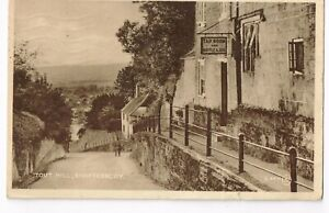 SHAFTESBURY  - TOUT   HILL        OLD POSTCARD    EARLY 1940's   (564)
