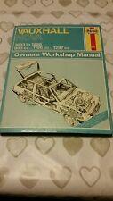 VAUXHALL NOVA MK1 1983 TO 1986 HAYNES WORKSHOP MANUAL 909 GOOD COND FREE POSTAGE