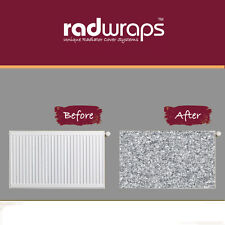 Silver Glitter - LARGE 1500 WIDE - Magnetic Radiator Cover - Radwrap